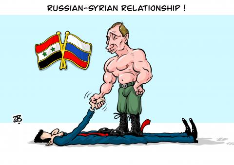 Russian Syrian relationship