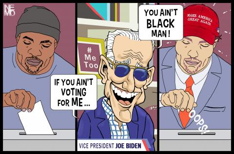Joe Biden You Ain't Black