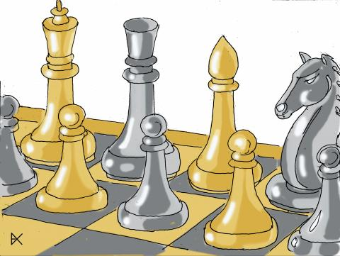 Chess is black and white as a model of tolerance