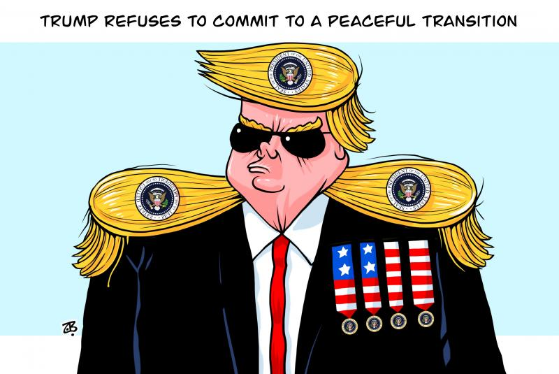 Trump the dictator!