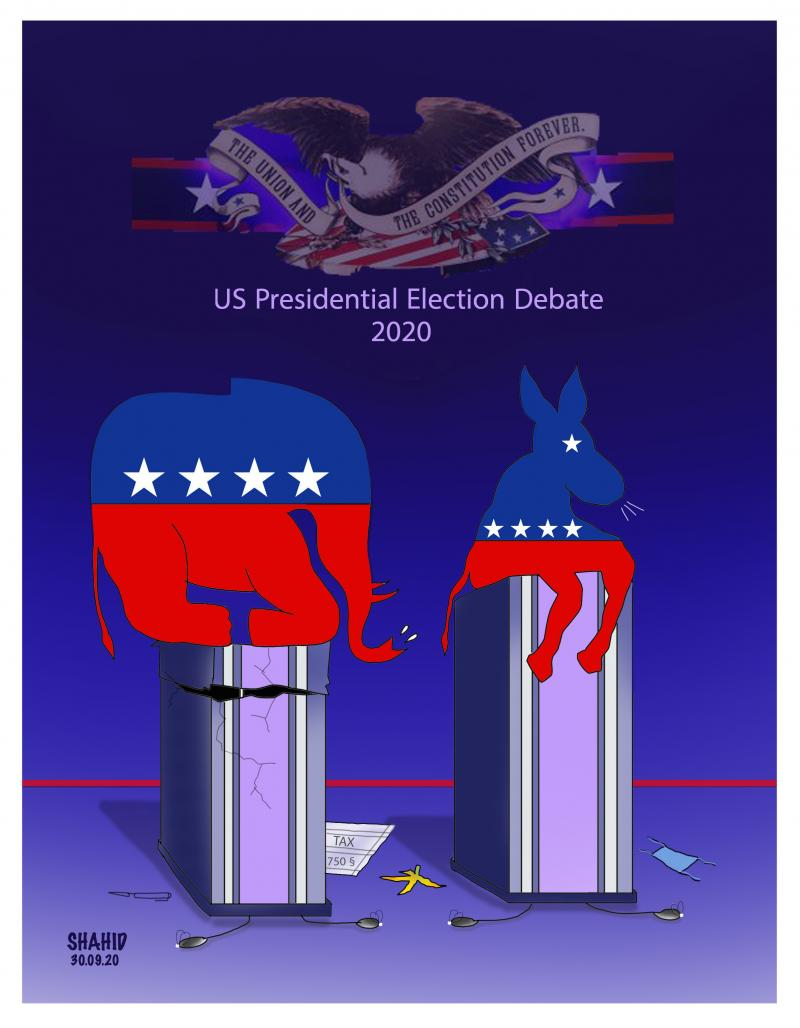 U.S. Presidential Election Debate 2020 !