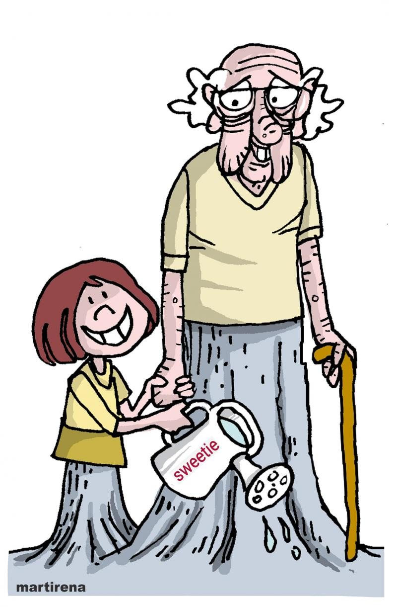Helping grandparents