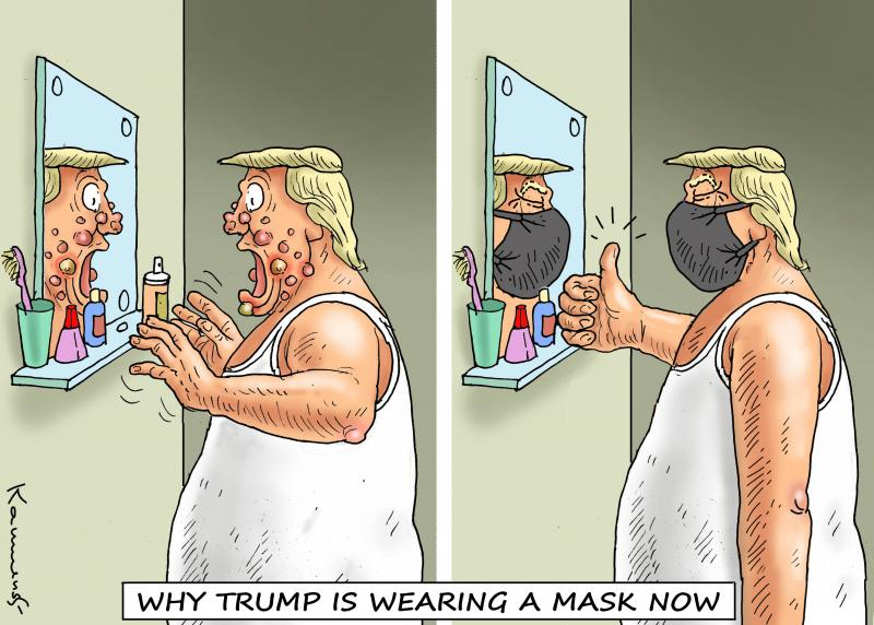 MASK FOR TRUMP