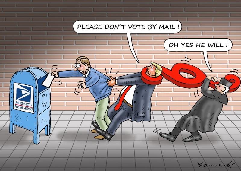 Don´t vote by mail!