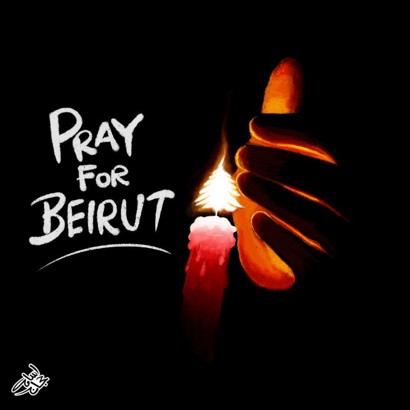 Pray For Beirut