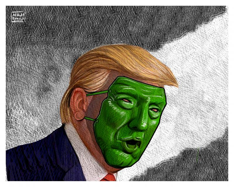 The mask decision that will haunt Trump's reelection bid ...