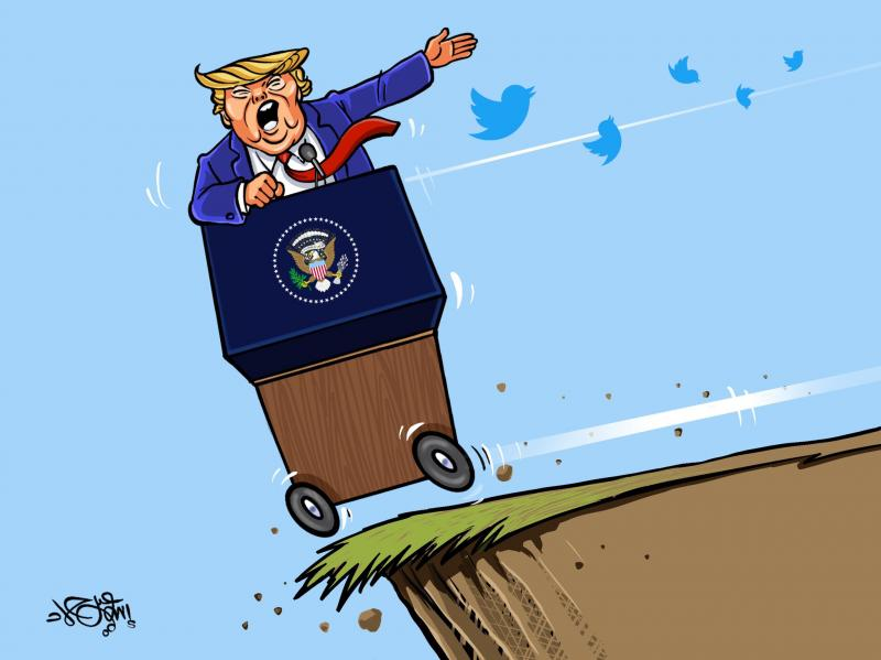 Trump on the edge